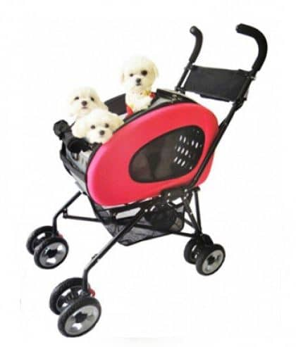 Hundbuggy 5in1 Pink