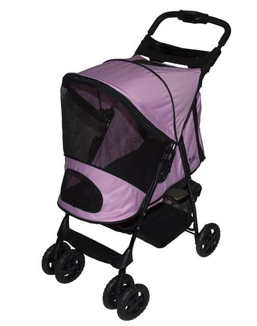 Pet Gear Happy Trails Hundebuggy in Pink