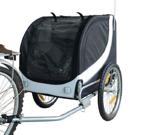 homcom-fahrrad-hundeanhaenger-schwarz