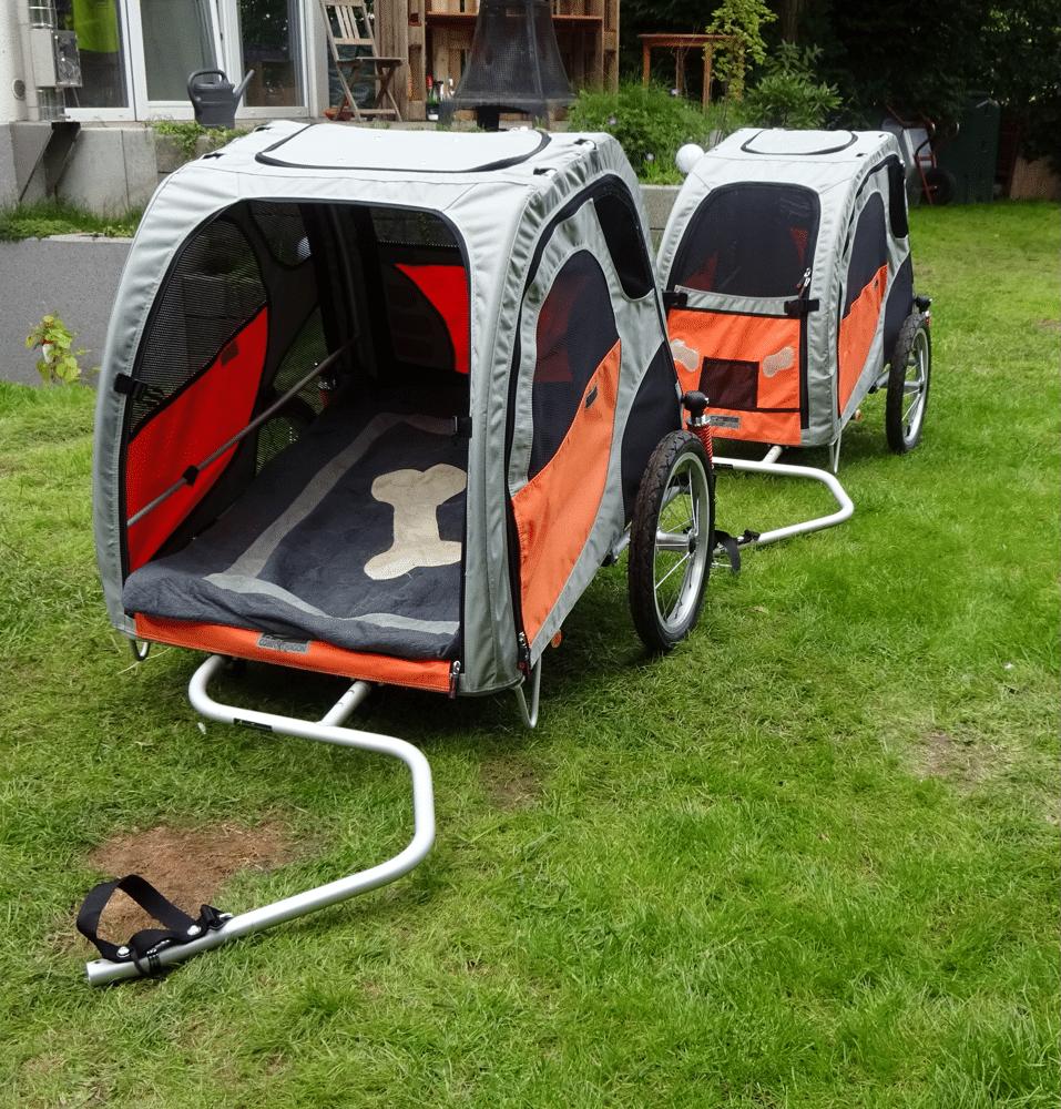 Comfort Wagon Doppeldeichsel und Federung