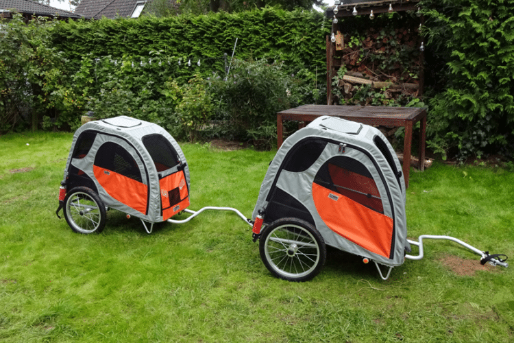 Petego Comfort Wagon M und L Hundefahrradanhänger