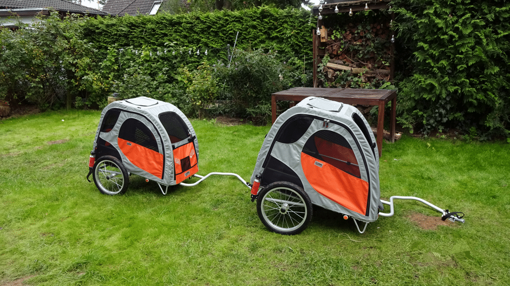 Petego Comfort Wagon Hundeanhänger Hundebuggy Im Praxis Test