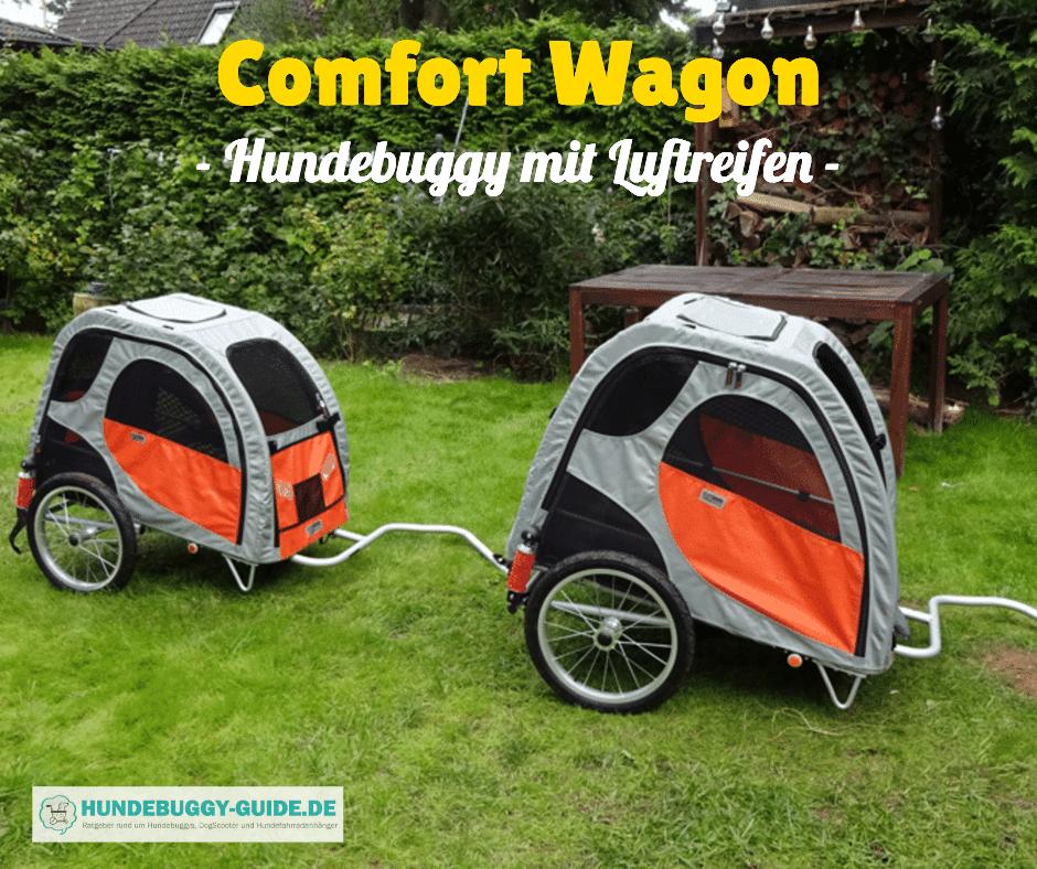 Hundebuggy mit Luftreifen Comfort Wagon