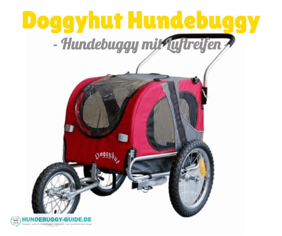 doggyhut hundebuggy mit luftreifen